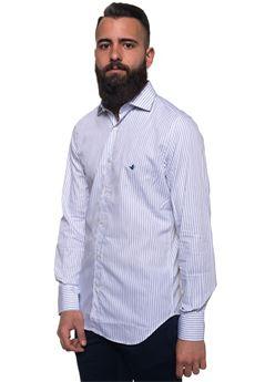 Camicia cotone manica lunga Brooksfield   6   202C-Q138V0031