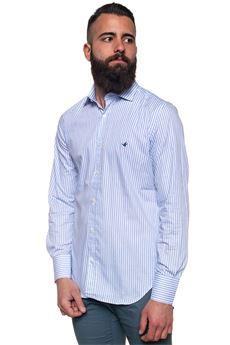Camicia cotone manica lunga Brooksfield   6   202C-Q138V0033