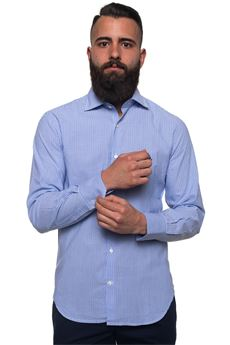 Long-sleeved cotton shirt Brooksfield | 6 | 202C-Q142V0031
