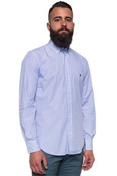 Camicia cotone manica lunga Brooksfield   6   202C-Q171V0033