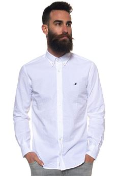 Camicia cotone manica lunga Brooksfield | 6 | 202C-Q272V0031