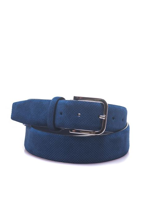 Leather belt Canali | 20000041 | 50-KB00171320