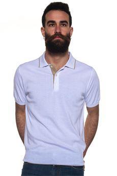 Polo mezza manica Canali | 7 | C0461-MK00504001