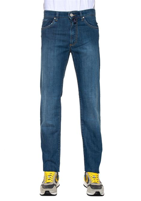 London 5 pocket denim Jeans E. Marinella | 24 | LONDON-218517