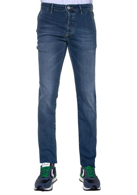 Jeans denim taglio chino Napoli E. Marinella | 24 | NAPOLI-210504