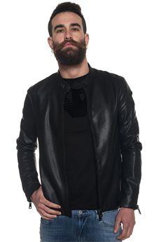 Biker jacket Emporio Armani | -276790253 | 3Z1B92-1EAAZ0999