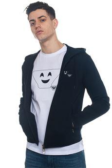 Zip Sweatshirt Emporio Armani | 20000055 | 3Z1BN2-1JBTZ0920