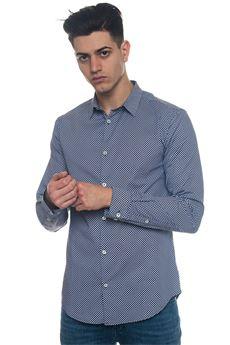 Camicia da uomo fantasia Emporio Armani | 6 | 3Z1C09-1N5EZF900