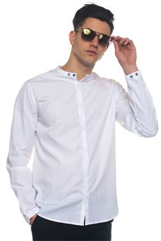 Long-sleeved cotton shirt Emporio Armani | 6 | 3Z1C61-1NSCZ0100