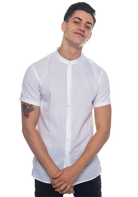 Short-sleeved linen shirt Emporio Armani | 6 | 3Z1C73-1NRAZ0100