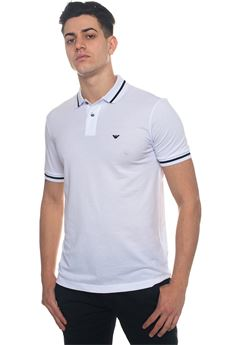 Polo shirt in cotton piquet Emporio Armani | 2 | 3Z1FL1-1JQYZ0100