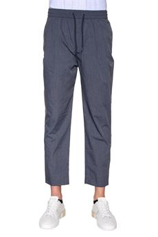 Cotton trousers with drawstring Emporio Armani | 9 | 3Z1P89-1NRFZ0634