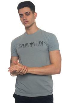 T-shirt stampa frontale Emporio Armani | 8 | 3Z1T92-1J0AZ0612