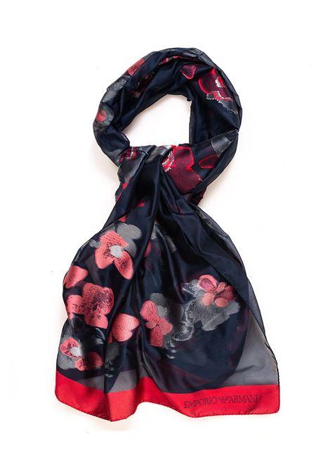 Stole flower print Emporio Armani | 61 | 631214-8P71900035