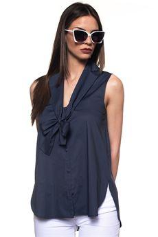 Camicia da donna lunga Emporio Armani | 40 | WNK44T-W9928909