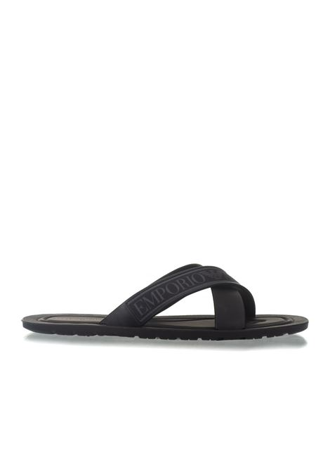 Sandals with logo Emporio Armani | 5032246 | X4P079-XL293A039