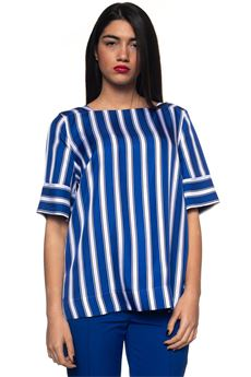 Tunic striped shirt Escada | 7 | 50262171972