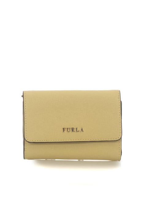 Babylon Zip leather wallet small size Furla | 63 | BABYLON PR76-B30CEDRO