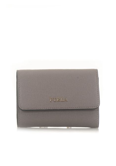 Babylon Zip leather wallet small size Furla | 63 | BABYLON PR76-B30SABBIA