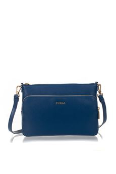 Royal leather bag Furla | 62 | ROYAL ED44-AREBLU PAVONE