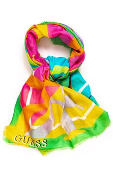 Scarf multicolour print Guess | 77 | AW7645-VIS03MUL
