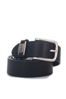 Classical belt Guess | 20000041 | BM6112-LEA35BLA