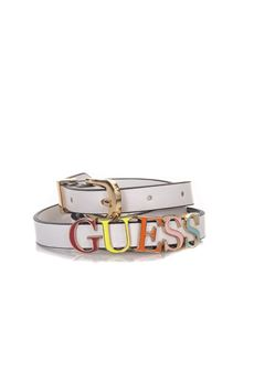 Narrow leather belt Guess | 20000041 | BW7017-VIN15OWI
