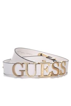 Belt logo in metal gold colour Guess | 20000041 | BW7018-VIN30OWI