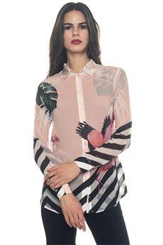 Women's soft shirt Guess | 6 | W81H23-W70W0PN42