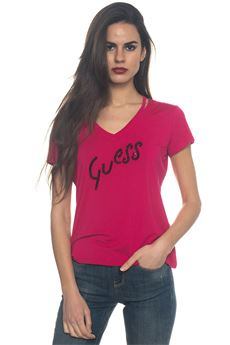 V-necked t-shirt Guess | 8 | W81I63-K68D0A469