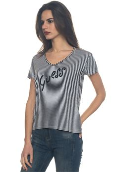 V-necked t-shirt Guess | 8 | W81I63-K68D0ST04