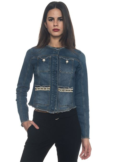 Denim harrington jacket Guess | -276790253 | W81N00-D2ZS1PZDW