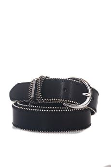 Narrow leather belt Guess | 20000041 | W81Z08-L0JU0A996