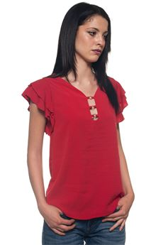 Blouse with short sleeves Guess | 6 | W82H27-WA5F0G503
