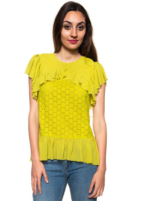 Blouse with frills Guess | 6 | W82H36-W9XF0KMZ