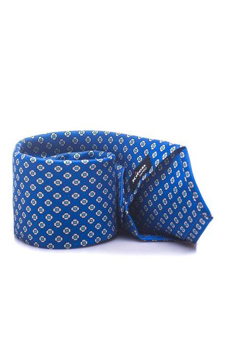 Tie flower pattern Kiton | 20000054 | KP 8,5-8E332
