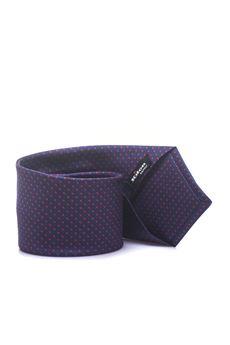 cravatta fantasia geometrica Kiton | 20000054 | KP 8,5-9E114