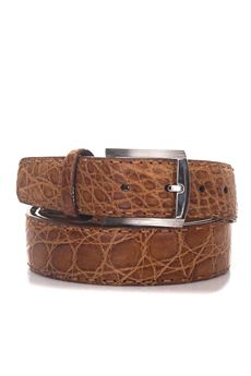 Crocodile belt Kiton | 20000041 | USC3PN0010222000