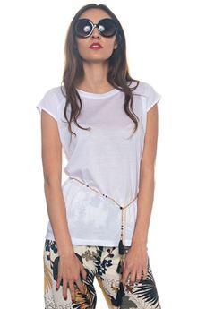 T-shirt bimateriale Luckylu | 8 | 25LL-TS32JP0006