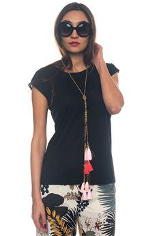 T-shirt bimateriale Luckylu | 8 | 25LL-TS32JP0700