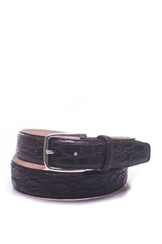 Crocodile belt MINORONZONI 1953 | 20000041 | MRS1811C50C60