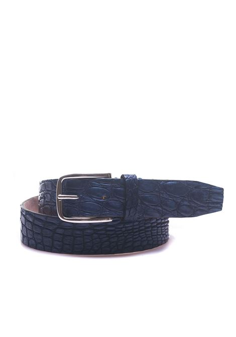 Crocodile belt MINORONZONI 1953 | 20000041 | MRS1811C51C30