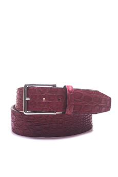 Crocodile belt MINORONZONI 1953 | 20000041 | MRS1811C52C20
