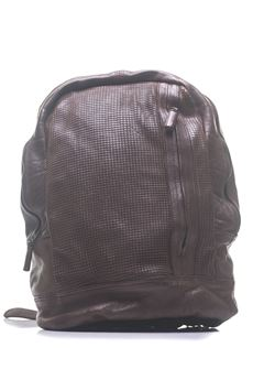 Leather rucksack MINORONZONI 1953 | 5032307 | MRS181B100C60