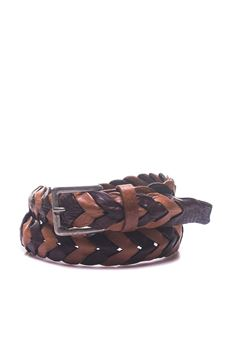 Leather belt MINORONZONI 1953 | 20000041 | MRS182C00385S