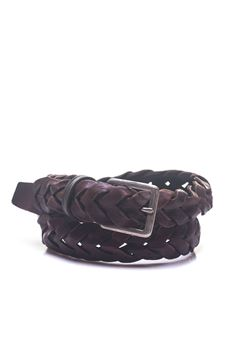 Leather belt, MINORONZONI 1953 | 20000041 | MRS182C003C60
