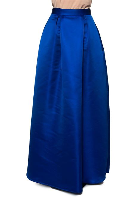 Long flared skirt Miss Max | 15 | 6099BLU