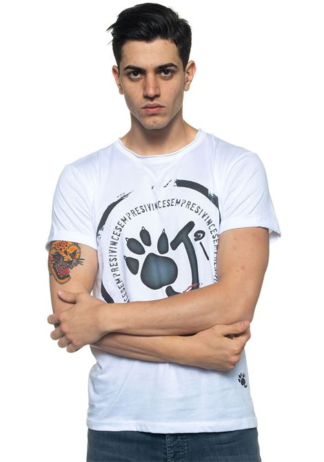 T-shirt Cerchio Oji | 8 | CERCHIO-OJIBIANCO