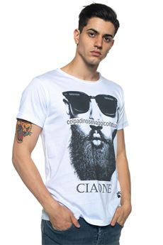 T-shirt Ciaone Oji | 8 | CIAONEBIANCO