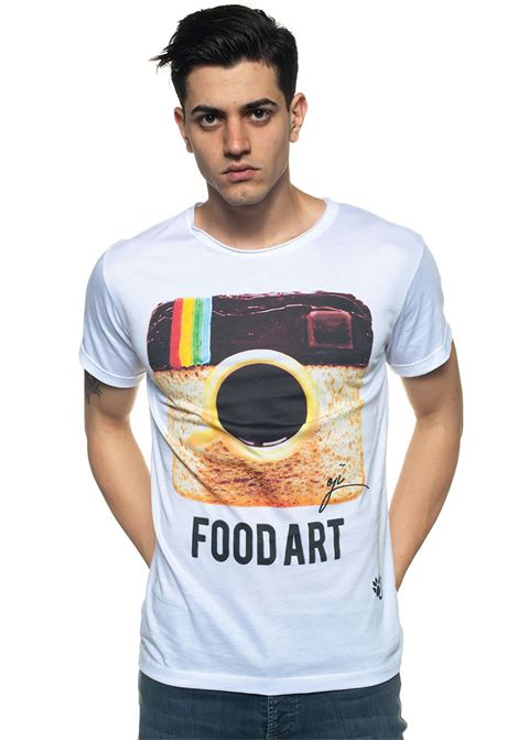 T-shirt Food art Oji | 8 | FOODARTBIANCO